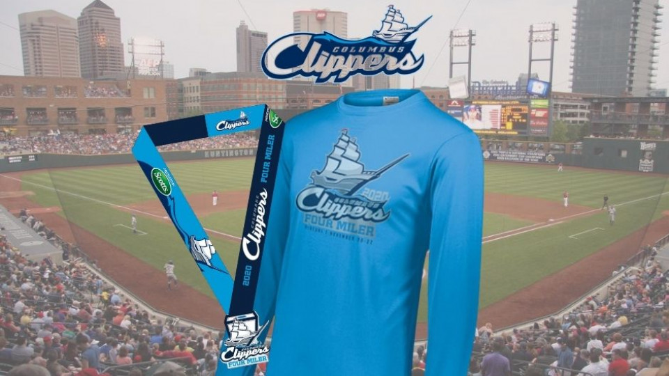 Virtual Columbus Clippers 4 Miler Presented By Scotts